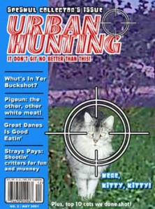 Issue 2 of Urban Hunting may not see the light of day.