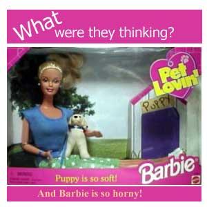 pet lovin barbie